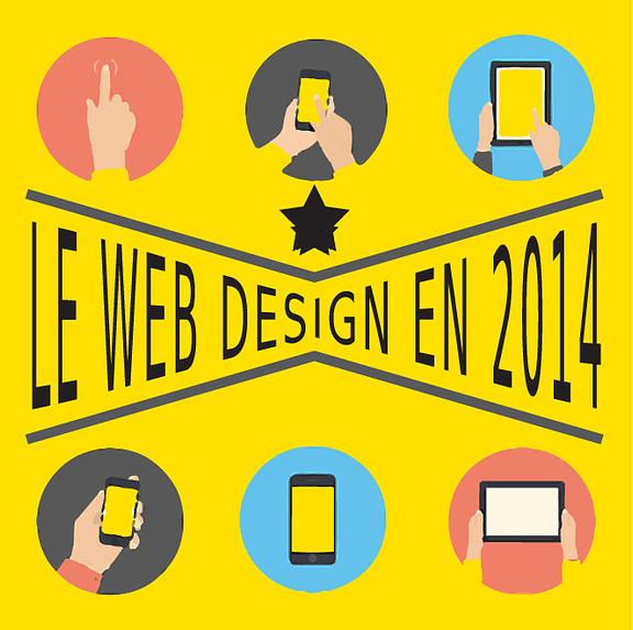 Top tendances pour le web design en 2014