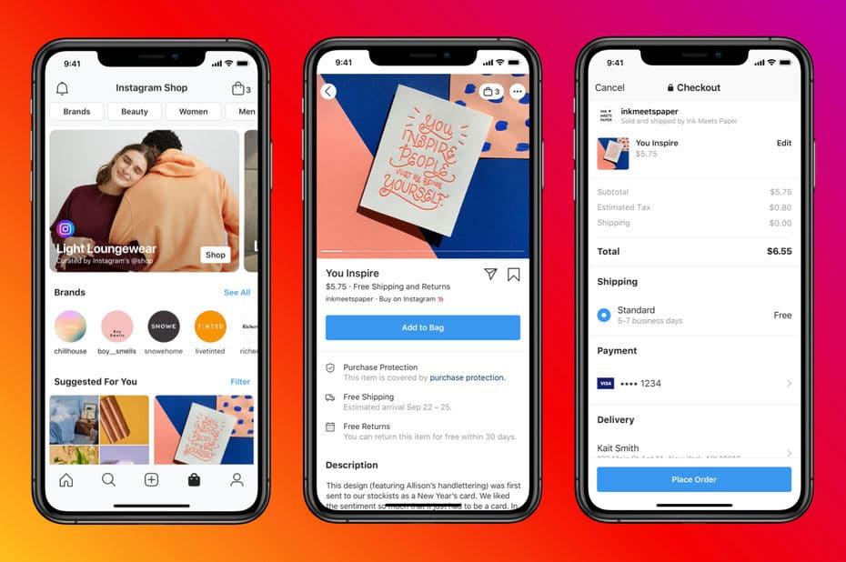 Le lancement de Facebook Shop: Grâce à Facebook Shop, Facebook frappe un grand coup dans l'e-commerce
