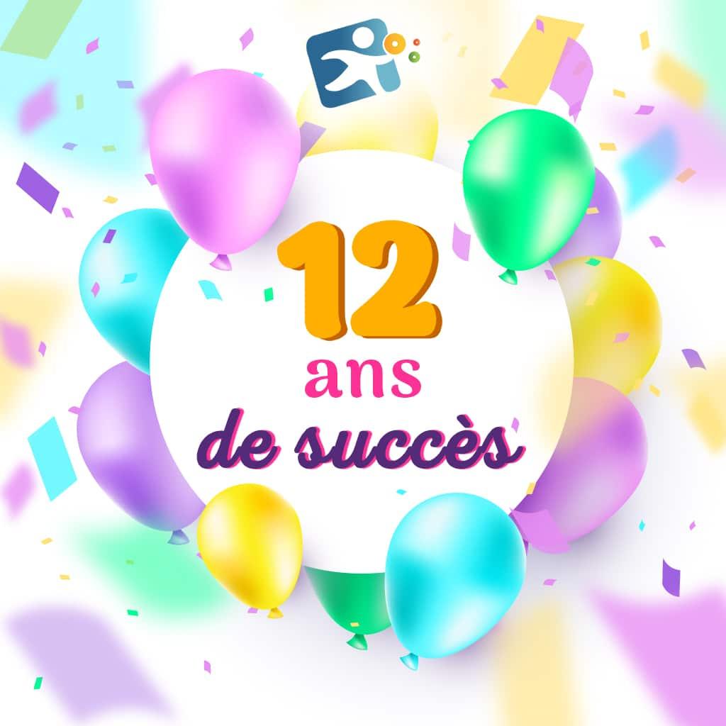 12 ans de succès