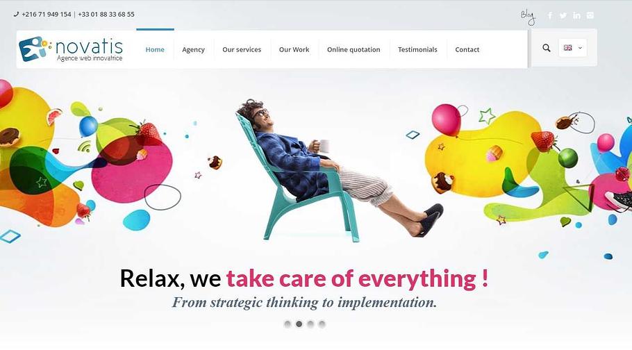 Agence création site web Tunisie