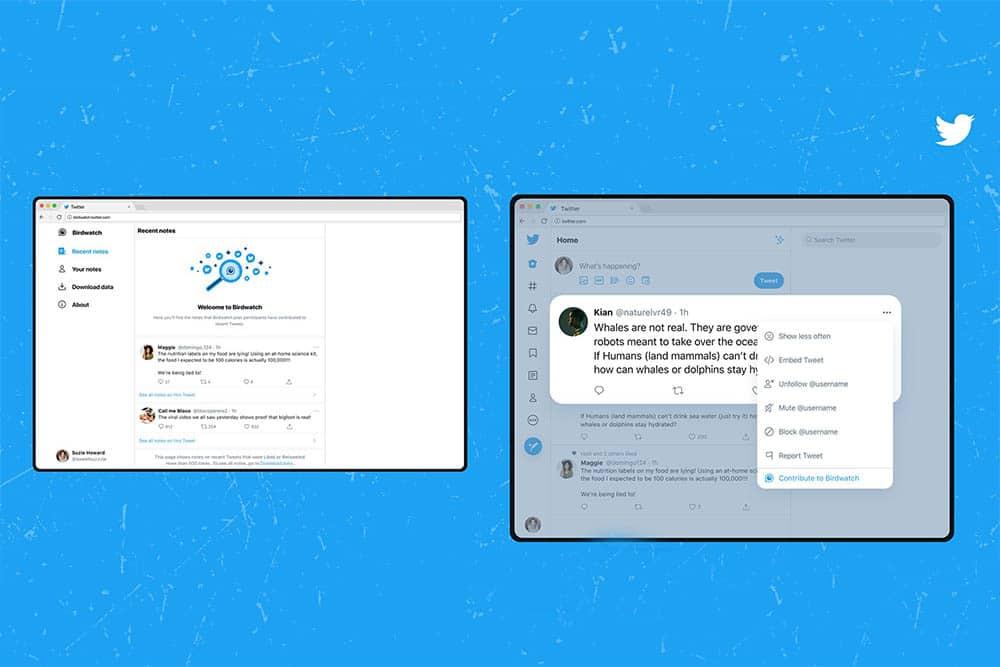 Twitter annonce Birdwatch pour lutter contre les fausses nouvelles